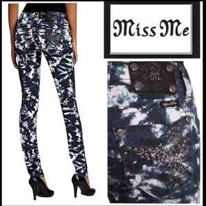 Miss Me Tie Dye Skinny Jeans 27